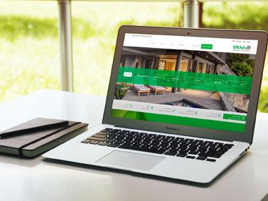 طراحی وب سایت املاک درخشان